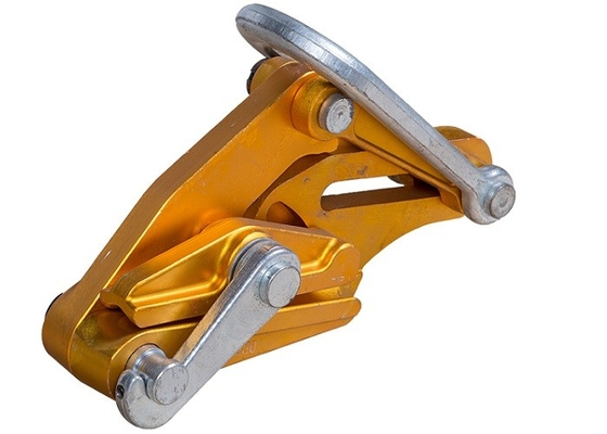 China Aluminum Alloy Electrical Cable Pulling Tools , 48 Mm Self Gripping Clamps supplier