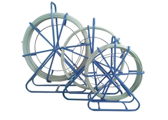China Galvanized Steel Frame Fiberglass Duct Rodder For Locating The Duct Block supplier