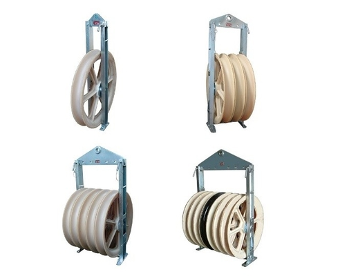 China 508 mm Diameter Transmission Line Stringing Tools Bundled Conductor Pulley supplier