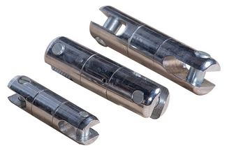 China SLX Model Galvanized Line Pulling Swivels , Swivel Steel Cable Connectors supplier