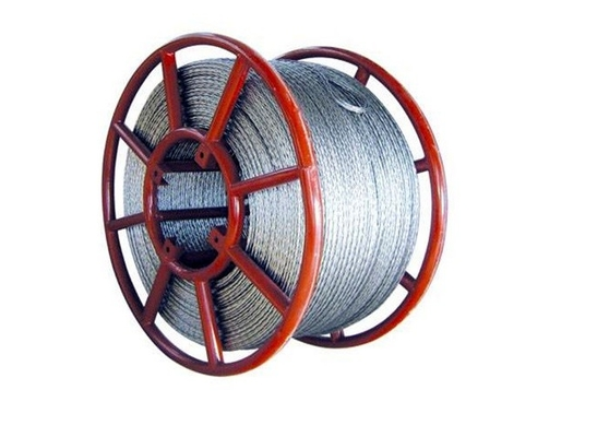China Hexagon Galvanized Transmission Line Stringing Tools Anti Twist Braid Rope supplier