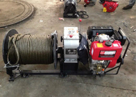 Capacity 30KN 3 Ton Power Puller Winch Pulling / Hoisting 8m / Min Fast Traction Speed