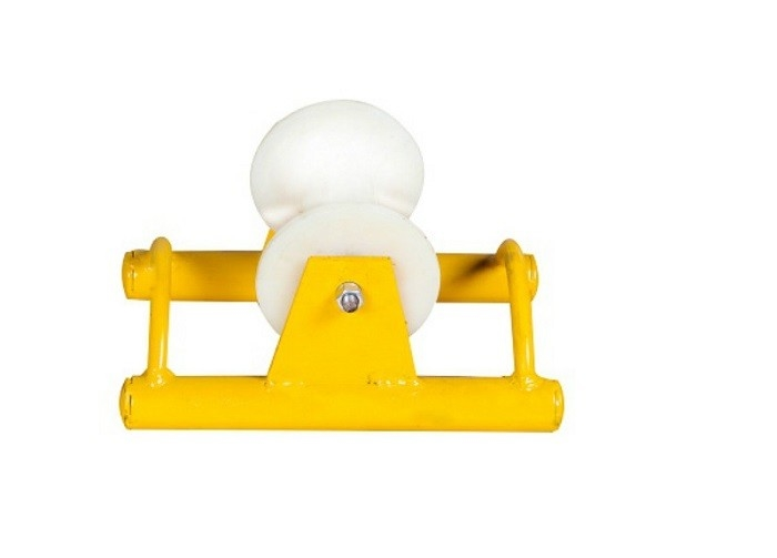 Steel Frame Nylon Wheel Cable Pulley Roller Equipped With High Speed