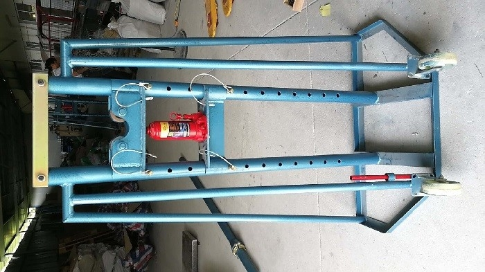 230kg Cable Pulling Equipment , Small Wheels Wire Pulling Equipment