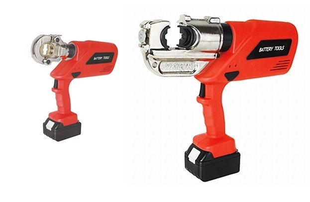 Manual Battery Powered Hydraulic Crimping Tool Cable Lug Crimping Tool 16 - 400mm2