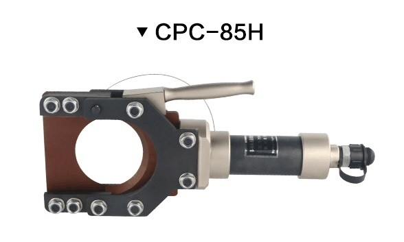 Aluminium Alloy Split Hydraulic Crimping Tool 80KN Crimping Force ISO Certification