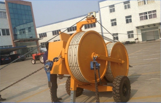 China Orange Hydraulic Puller Tensioner SA-YQZ40 40KN For Pulling / Tensioning Conductor factory