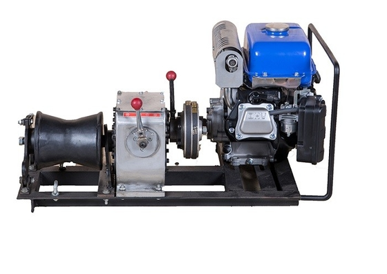 Belt Driving Stably Come Along Winch 3 Ton Small Volume With YAMAHA Engine