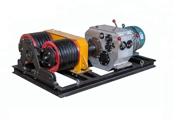 Double Capstan Mortor 5 Ton Winch 50KN Power Construction With Electric Engine