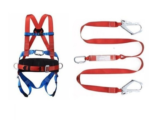 China Lineman Safety Harness Construction Safety Tools 100% Polyester Safety Belt factory